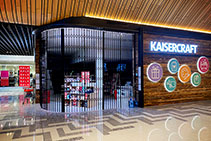 Stunning Curved Security Shutters for Kaisercraft from ATDC