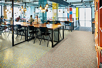New Homogenous Flooring Collection Fabscrap by Forbo