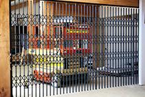 S05 Retractable Security Doors for Schools from Trellis Door Co