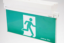 Surface Mounted Exit Signs - Mirage LED Plus from FAMCO