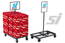 Bulk Goods Mobile Display from SI Retail
