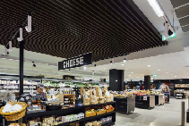 Seamless Noise Reduction Panels for Retail from Atkar