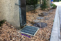 Stainless Steel Access Covers in Innovation Walk, Clayton by Hydro