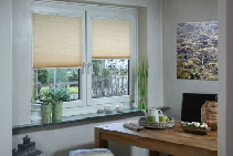 Thermal Efficient Cellular Honeycomb Blinds Range from Blinds by Peter Meyer