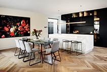 French Oak Herringbone Parquet Flooring by Renaissance Parquet