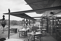 Strip Heaters for Outdoor Dining Areas from Thermofilm