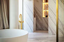 White Marble Natural Stone - Imperial White by RMS