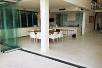 Seamless Indoor-Outdoor Areas with Hydro Zero Threshold Drains