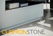 Cushionstone Visual Modular LVT Flooring at Sherwood Enterprises
