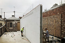 ICF Partywalls - Polywall ICF from Insulbrick ICF