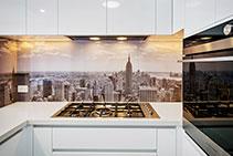 Stunning New York Kitchen Splashback from DECO