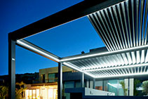 Retractable & Tilting Louvre Roofs from Designer Shade Solutions