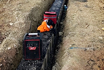 Channel Drain Installation for Racing Circuit by Hydro