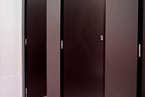 Squareline Washroom Cubicles from Flush Partitions Australia