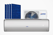 AC/DC Hybrid Solar Air Conditioners from Solartex