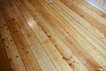 Baltic Pine Flooring Available from Hazelwood & Hill