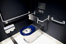 Vandal Resistant Stainless Steel Bathroom Fittings from Britex