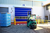 Energy Saving Rapid Roll Doors from DMF