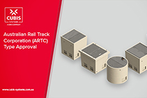 CUBIS Awarded Australian Rail Track Corporation Type Approval