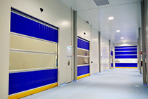 Hygiene Control Doors for Healthcare from DMF International