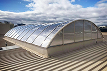 Polycarbonate Panel Roof Replacements by Allplastics