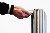 Sanitiser Dispenser Bollards by Sterling from The WDS Group