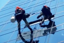 High-Rise Glazing Repair via Rope Access with Kerrect Group