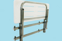 Stainless Steel Shower Seat Mounting Kits from HRI