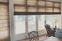 Urban Weave Blinds for Rustic Interiors from Blinds by Peter Meyer