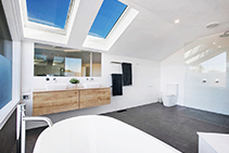 Operable Roof Windows for Bathrooms from Atlite Skylights