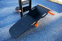 Textured HDPE for Playground Equipment from Allplastics