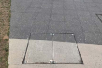 BUrbanfil Recessed Steel Access Covers from ACO