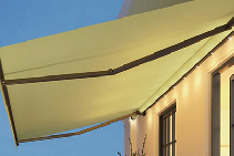 Livona and Livona Minimax: Compact Folding Arm Awnings from Blinds by Peter Meyer