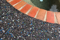 Pre-Mix Coloured Glass - Poolside Mix New from Schneppa Glass