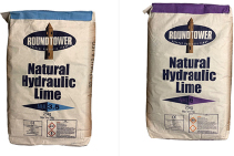 Roundtower Natural Hydraulic Limes Available from Thorhelical