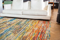Sari Silk Indian Rug Collection from De Poortere
