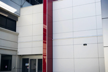 Swisspearl® Non-Combustible Cladding for Hospitals from HVG