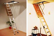 AM-BOSS Attic Ladders from Little Jumbo Ladders