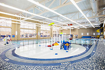 Illusions Light Pipe for Swimming Centre Lighting by Hotbeam