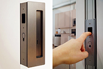 Innovative Sliding Door Magnetic Handle by CS Cavity Sliders