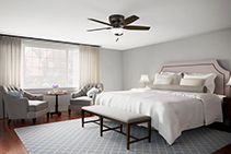 Ceiling Fans with LED Lighting from Prestige Fans