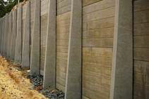 Concrete Sleeper Retaining Walls Brisbane from Concrib