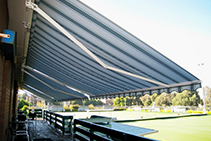 Folding Arm Awnings Melbourne from Shadewell Awnings & Blinds