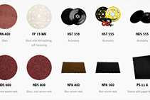 Klingspor Abrasive Sheets Available from The WDS Group