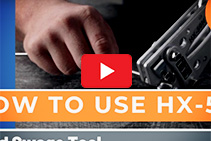 How to Use a HX-50 Hand Swage Tool from Miami Stainless