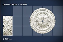 Plaster Ceiling Roses - 08 by CHAD Group