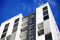 Powder Coated Louvres for Bondi Junction by Maxim Louvres