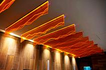 Fluorescent Window Displays from Allplastics