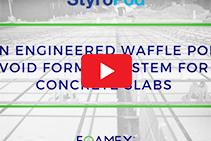 Waffle Pod Void Formers - Diamond Pod by Foamex
