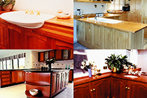 Solid Timber Kitchens and Bathrooms from DGI